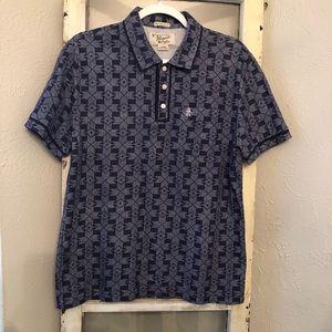 Original Penguin Geometric Shirt Size Medium